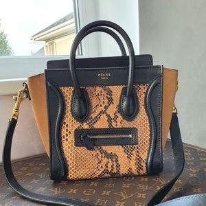 Celine Python Nano Bag